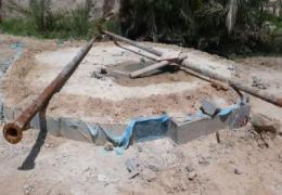 اتمام چاه دفع آبهای فاضلاب شهری محله کهویه
