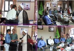 برگزاری مراسم تقدیر از جانبازان کارمند در شهرداری لار