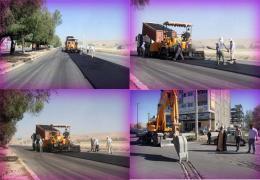 روکش آسفالت معابر شهری، از اولویت برنامه های سال جاری شهرداری و شورای شهر