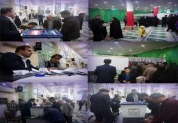 انتخابات یاوران شورا در محلات شهر لار برگزار شد