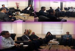 دیدار نوروزی شهردار و اعضای شورای شهر با فرماندار ویژه لارستان