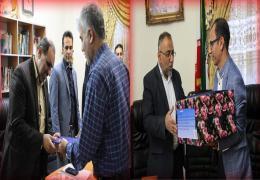 تجلیل شهردار و کارکنان شهرداری از اعضای شورا به مناسبت روز شوراها