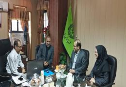 دیدار سرپرست جدید بانک شهر منطقه چهار استان فارس با شهردار و رییس شورای اسلامی شهر لار