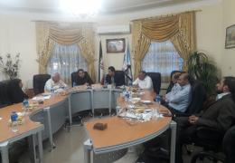 اعضای شورای اسلامی شهر لار هیئت رئیسه سال سوم شورا را انتخاب کردند