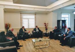 اعضای شورای شهر لار با فرماندار لارستان دیدار کردند