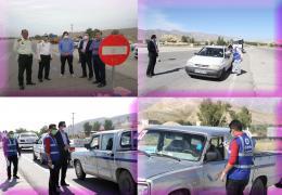 اجرای طرح غربالگری و تب سنجی به طور شبانه روزی در ورودی شهر لار