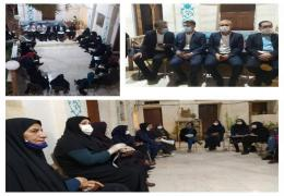 مطالبات مسئول کمیته بانوان شورای اسلامی شهر لار  در  نشست بانوان فعال منطقه از نماینده مجلس