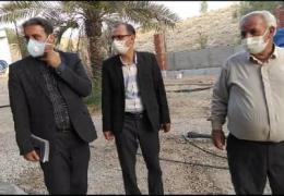 بازدید اعضای شورای اسلامی شهر لار از پارک بانوان و نسترن