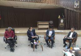 بررسی مسائل و مشکلات اشتغال در لارستان با حضور معاون فرماندار