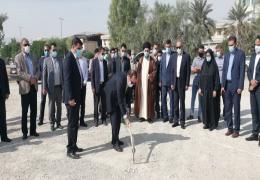 با حضور استاندار فارس، ساخت زورخانه حضرت قمر بنی هاشم (ع) لارستان آغاز شد