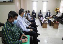 دیدار شهردار و اعضای شورا با دادستان و رئیس دادگستری لارستان به مناسبت هفته قوه قضائیه